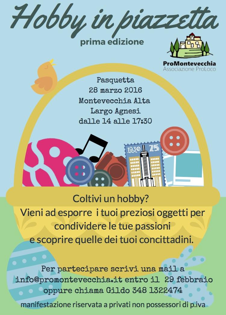 Hobby in Piazzetta 2016