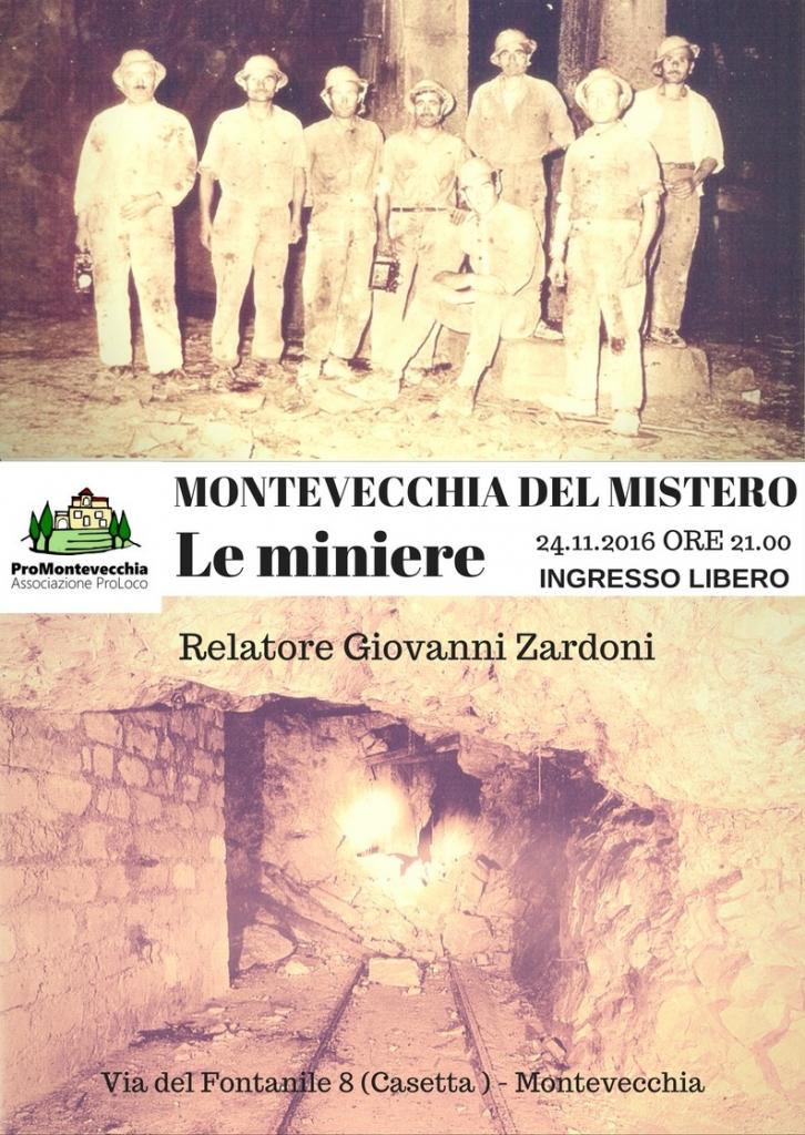MONTEVECCHIA DEL MISTERO: LE MINIERE