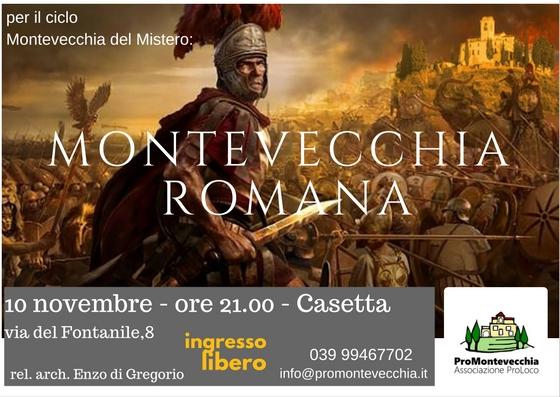 MONTEVECCHIA DEL MISTERO: ROMANA