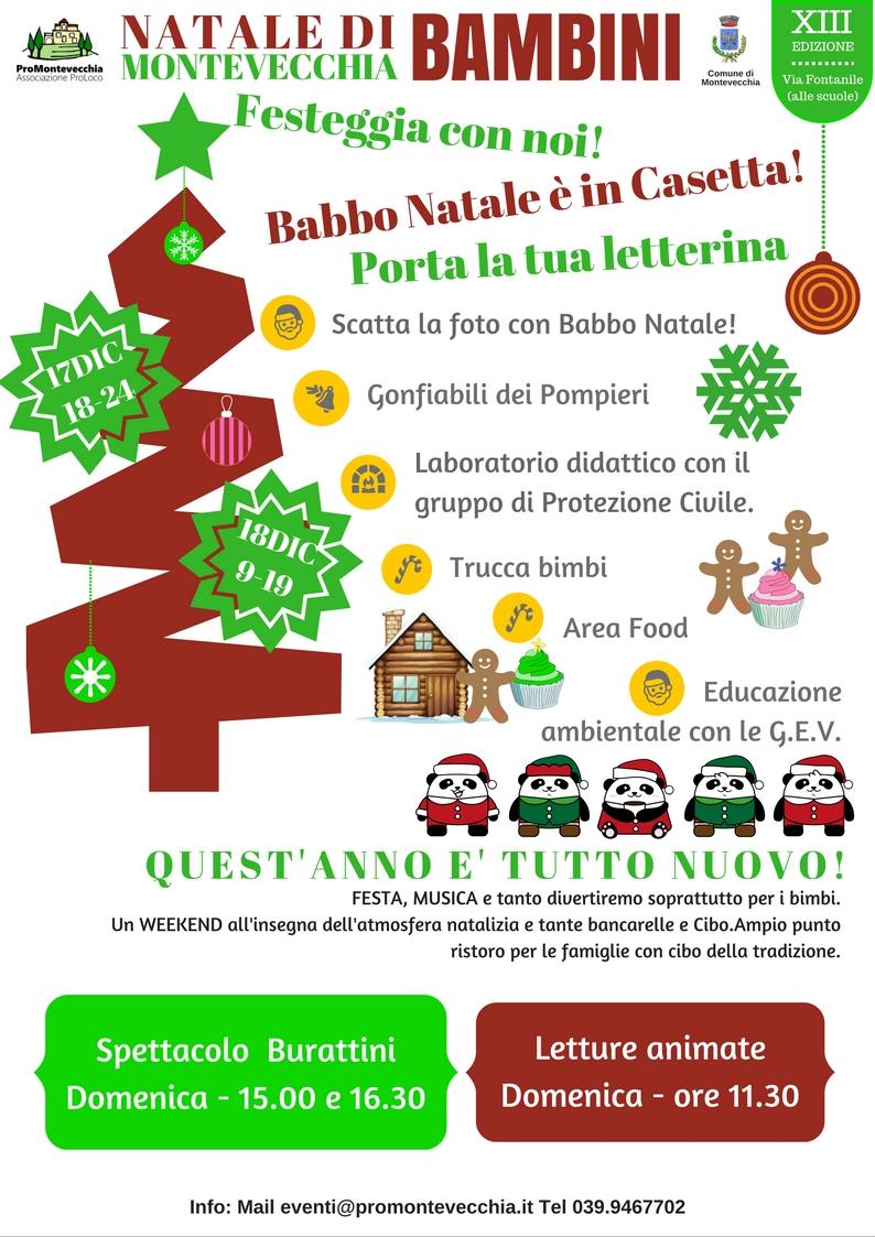 Natale di Montevecchia per i Bimbi