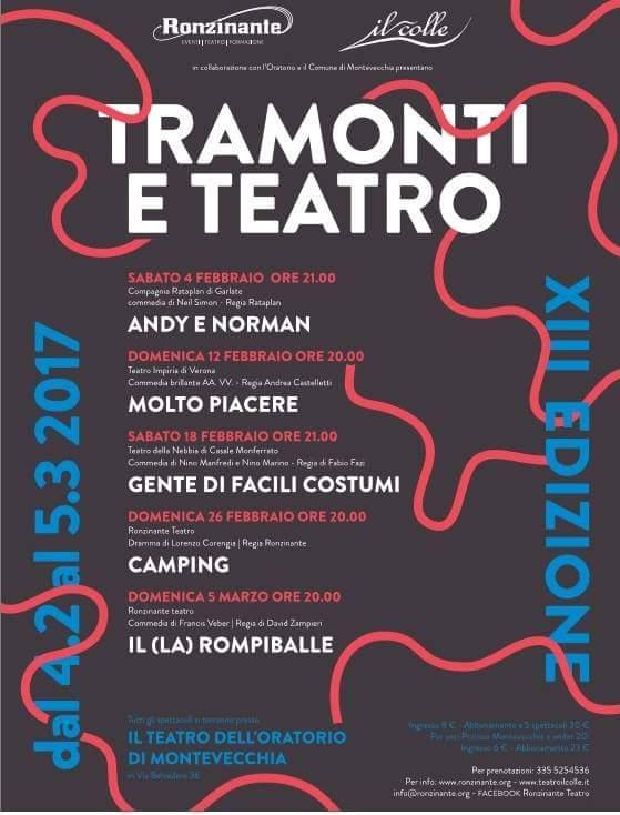 Tramonti e teatro XIII edizione