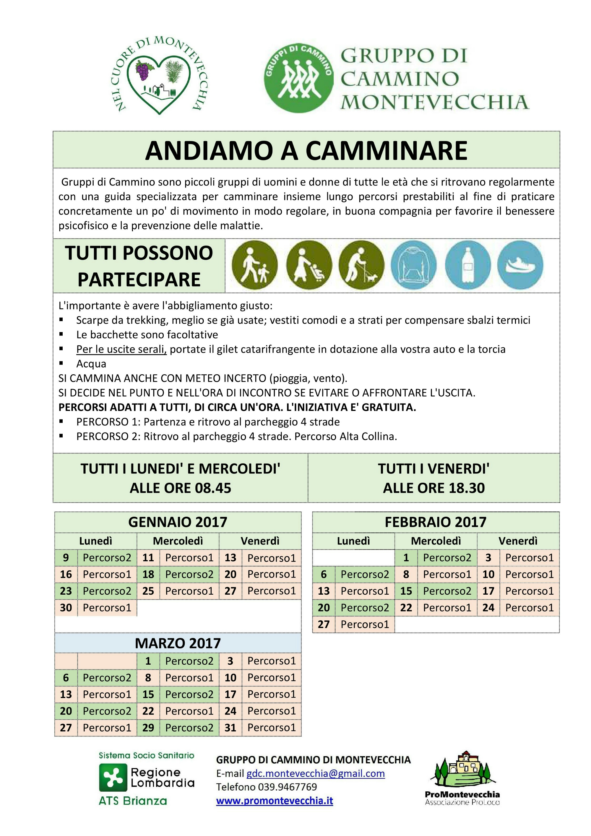Calendario 2017 I trimestre
