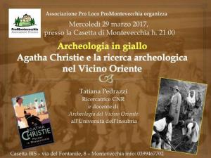 La Siria ieri e oggi: Agatha Christie e la ricerca archeologica