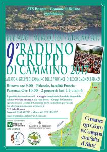 9° Raduno Gruppi di Cammino 2017 a Bellano