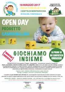 """Open day """"Progetto Campanellino"""""""