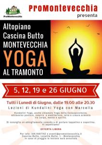 Yoga RINVIATO AL 07 GIUGNO