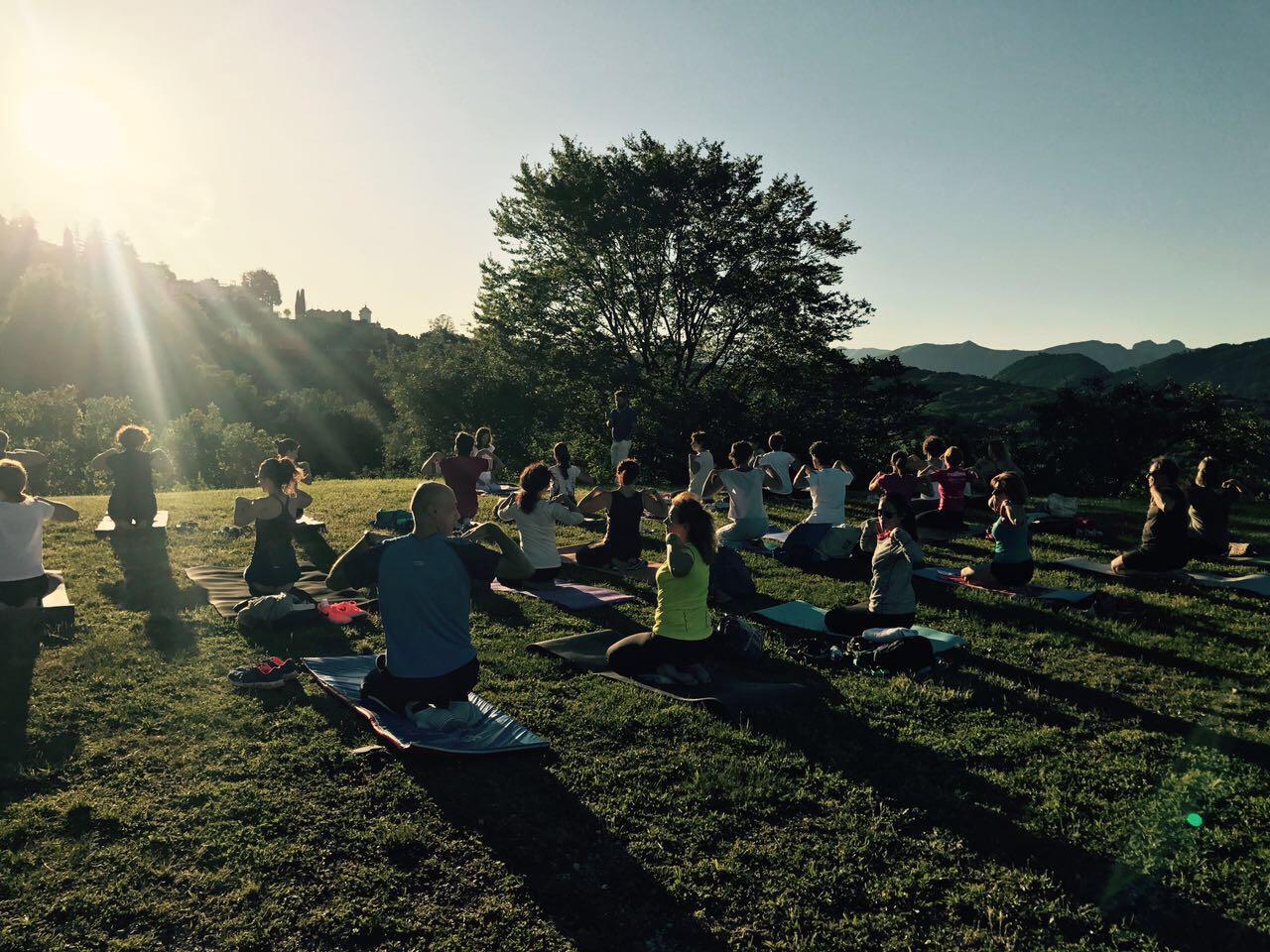 Yoga al tramonto II