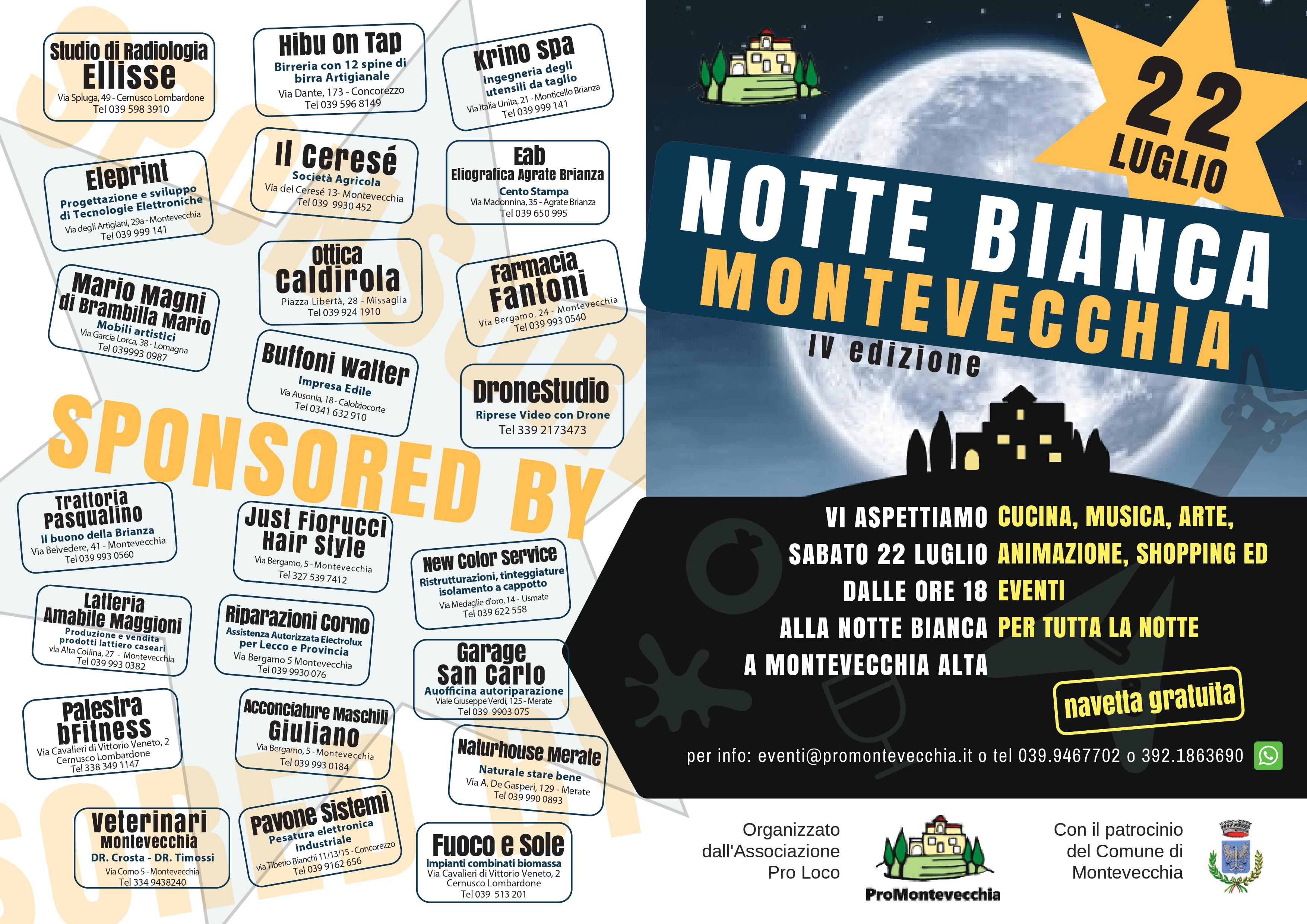 Sponsor Notte Bianca 2017