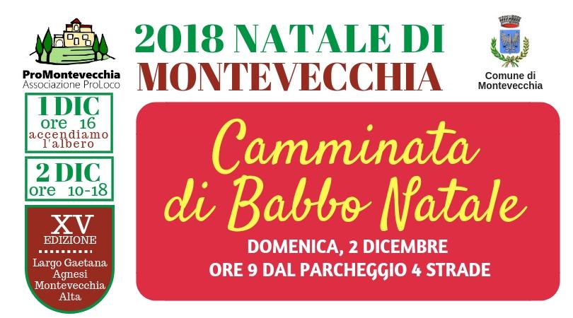 Natale di Montevecchia – Camminata di Babbo Natale!