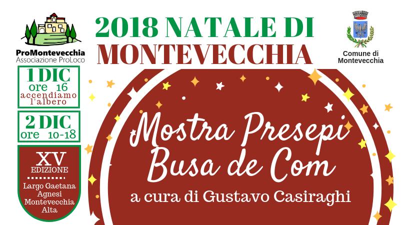Natale di Montevecchia – Mostra Presepi al Busa del Com