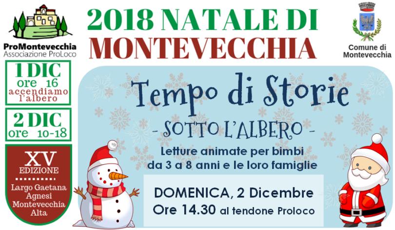 Natale di Montevecchia – Tempo di Storie sotto l'Albero!