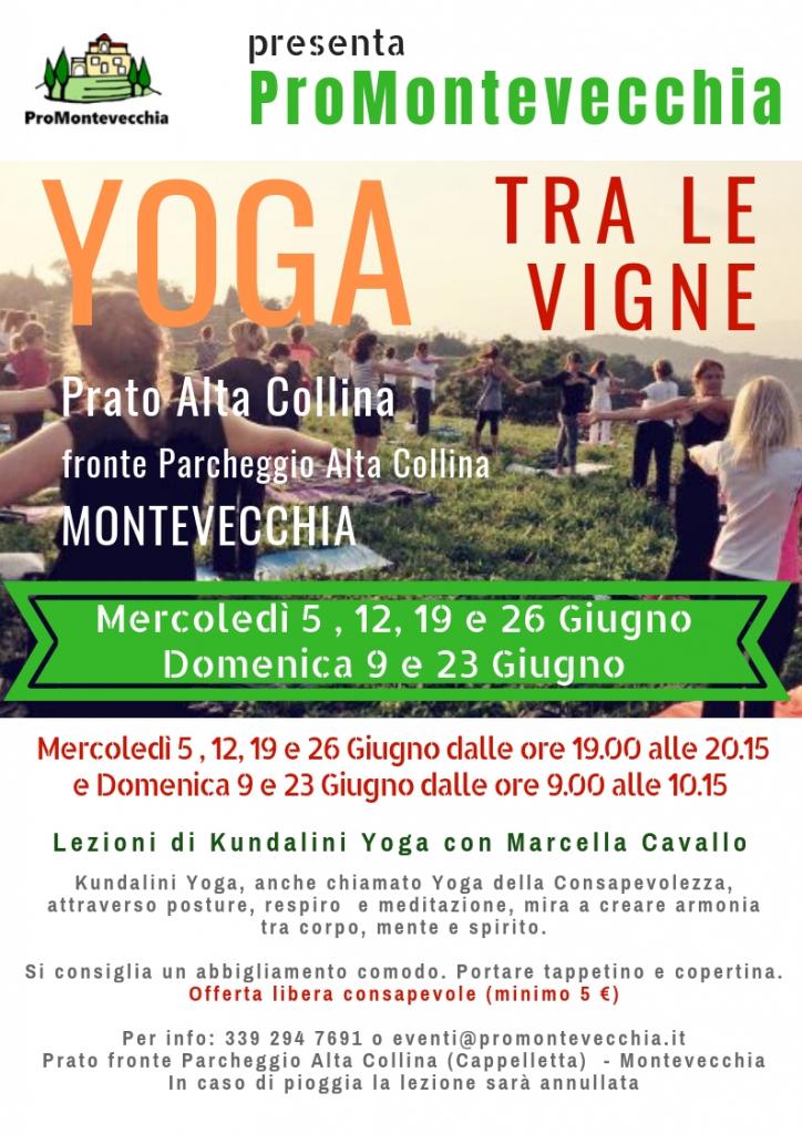 Yoga tra le Vigne 2019