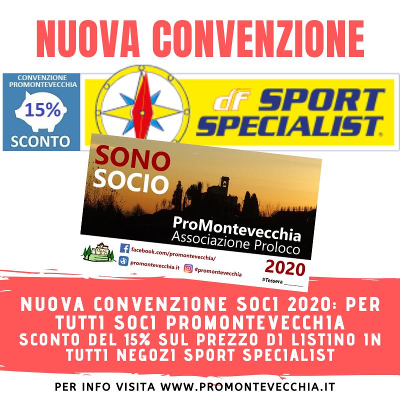 Nuova Convenzione Sport Specialist